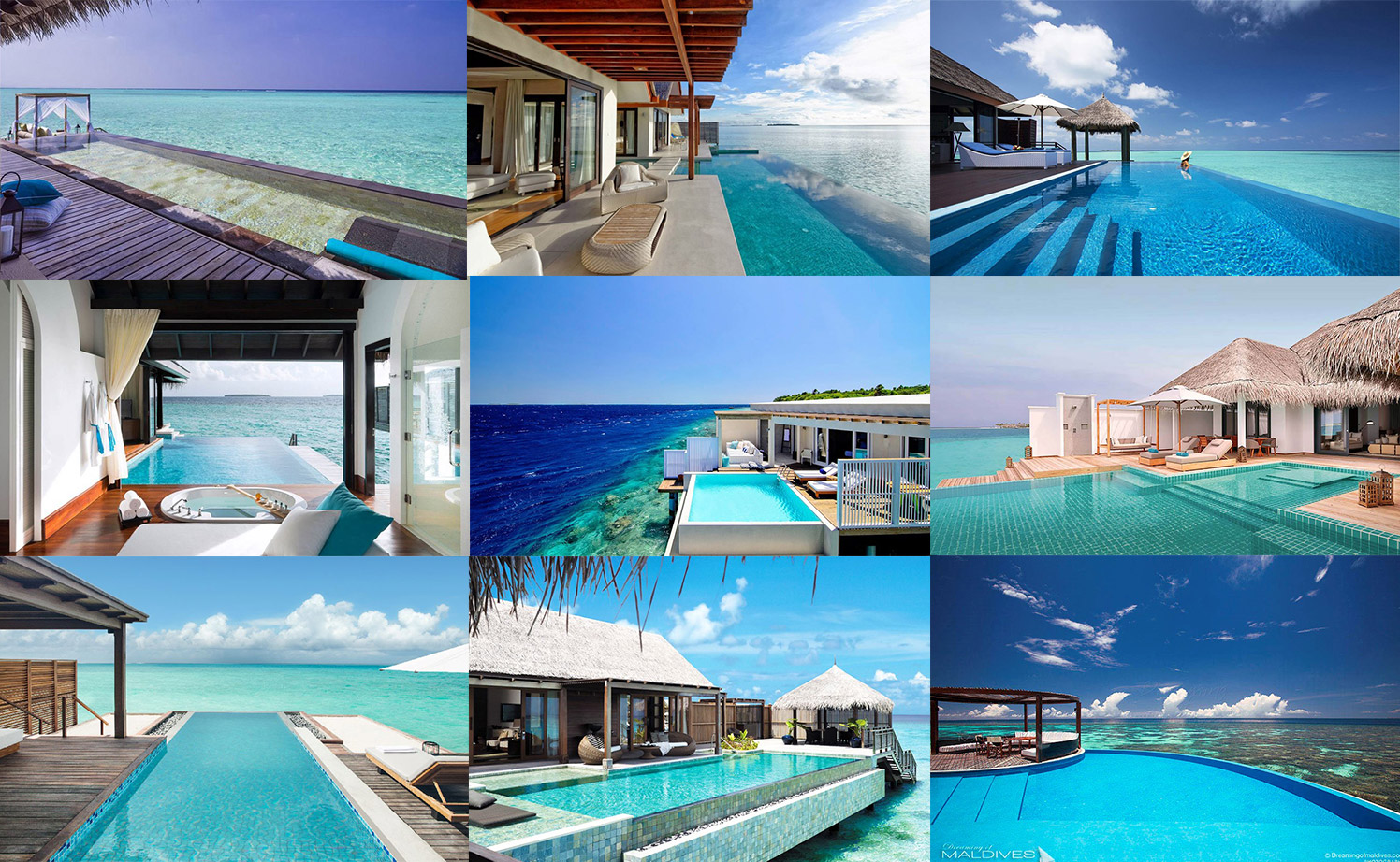 10 splendid Overwater Villas with Infinity Pools in Maldives