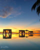 Sunset at Amilla Fushi and Residences