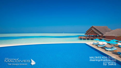 Anantara Dhigu Maldives Family Hotel pool