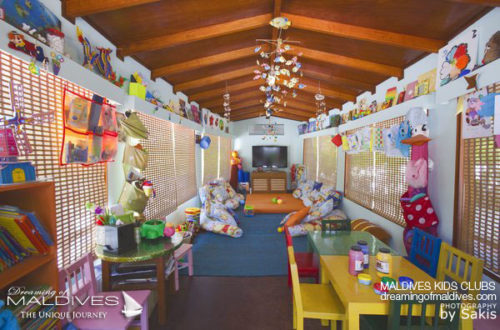 Maldives Family Hotel Anantara Dhigu Kids Club