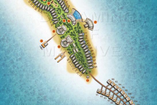 Anantara Dhigu Maldives Resort Maps