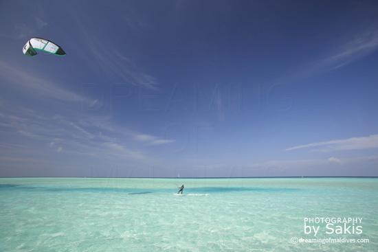 Anantara Dhigu Maldives Kitesurf