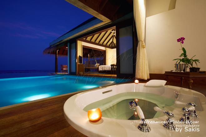 Anantara Kihavah Maldives best water Villas