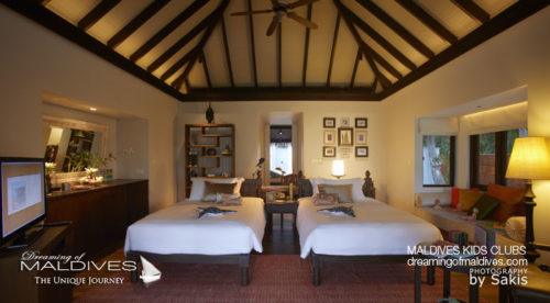 Maldives Family Hotel Anantara Kihavah Family Villa Kids Room