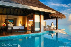 The Best Maldives Water Villas We've Seen at Anantara Kihavah Villas Maldives