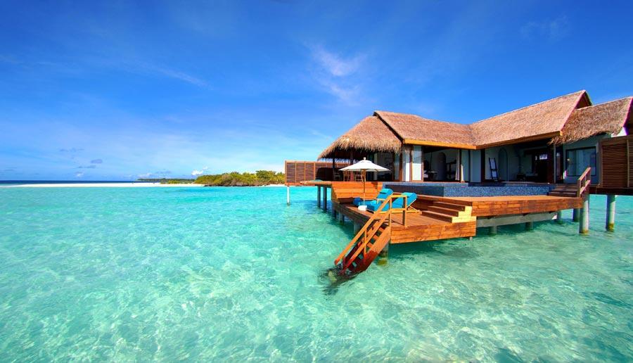Anantara Kihavah Villas Maldives Over Water Pool Villa - outside