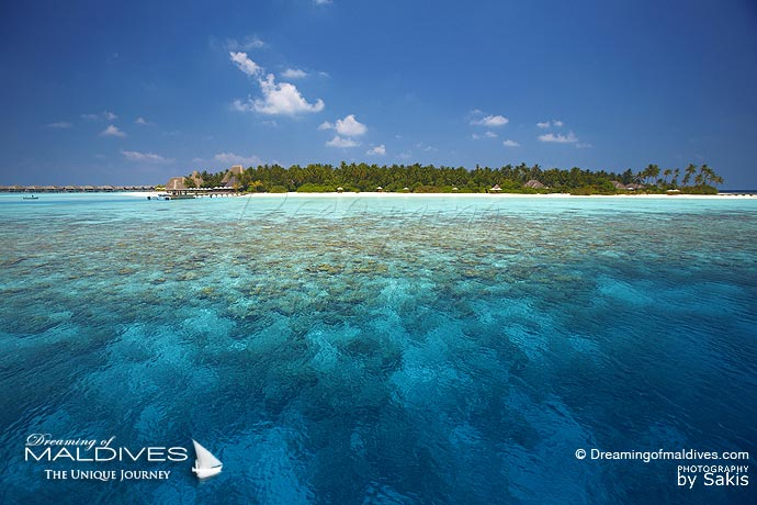 Anantara Kihavah Best Resort for snorkeling in Maldives