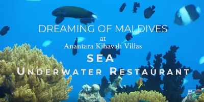Anantara Kihavah Villas Maldives Underwater Restaurant VIDEO