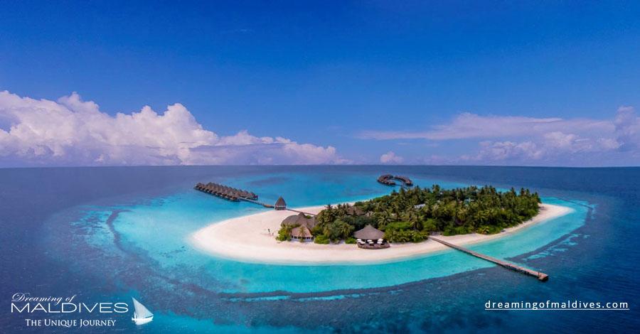 Angaga Maldives Resort Aerial Photo