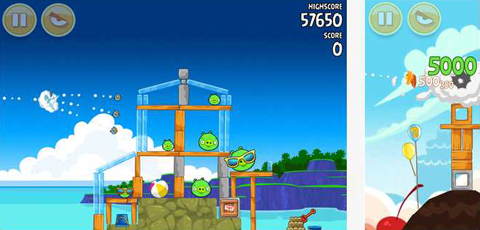 Angry Birds app for iPhone and iPad