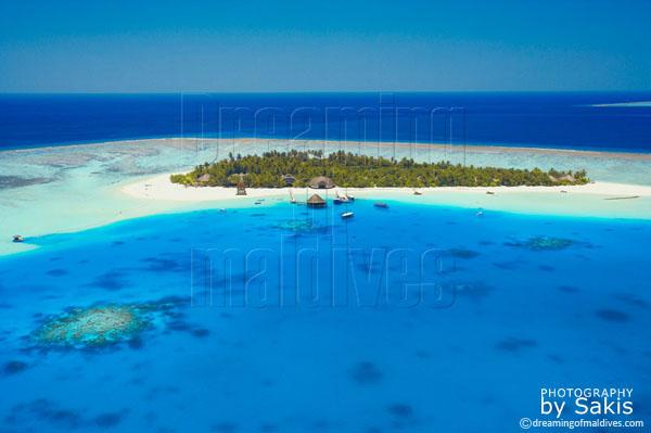 angsana velavaru maldives aerial view photo gallery