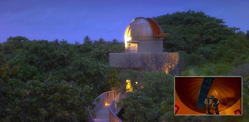 The Astronomical Observatory at Soneva Fushi