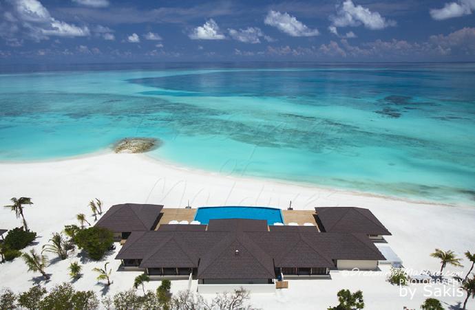 Atmosphere Kanifushi Maldives - Aerial View | Photo © Sakis Papadopoulos