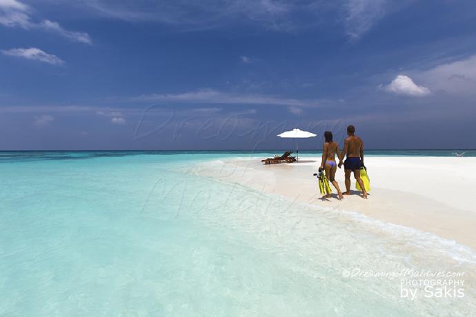 Atmosphere Kanifushi Maldives - Lagoon and Beach | Photo © Sakis Papadopoulos