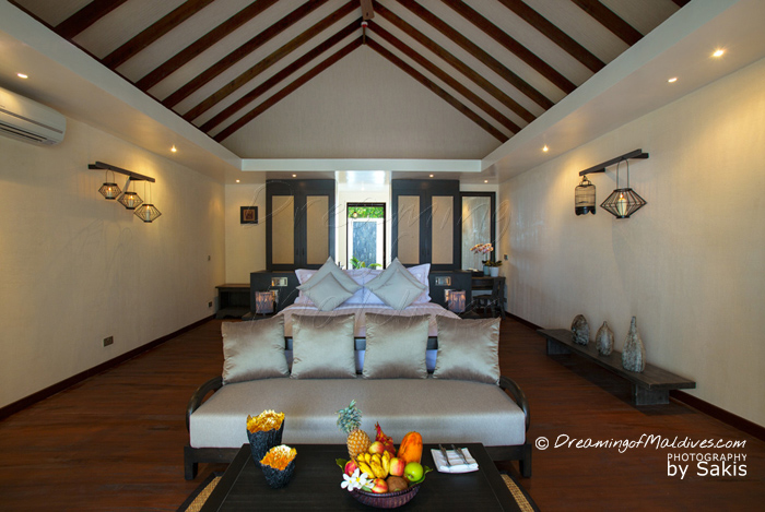 Atmosphere Kanifushi Maldives - Sunset Beach Villa, The Bedroom