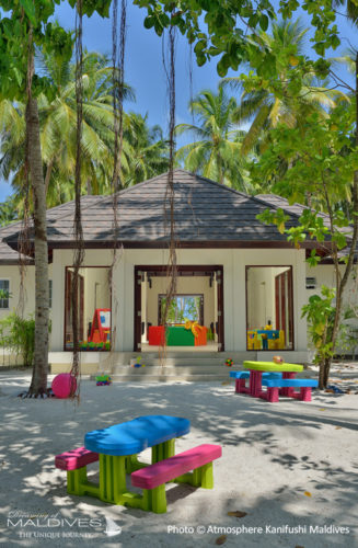 Kids club Playground at Atmosphere Kanifushi Maldives