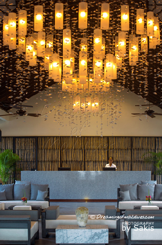Atmosphere Kanifushi Maldives - The Lobby