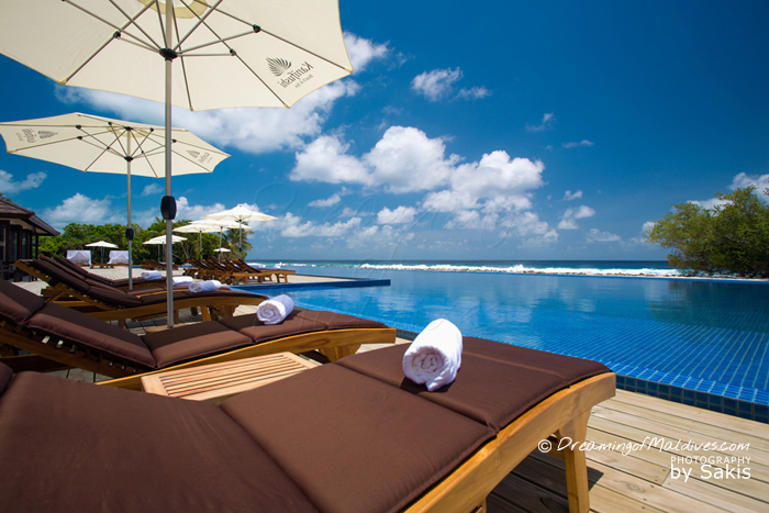 Atmosphere Kanifushi Maldives - Another View from the Resort infinity Pool