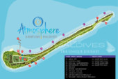 Atmosphere Kanifushi Maldives Resort Map