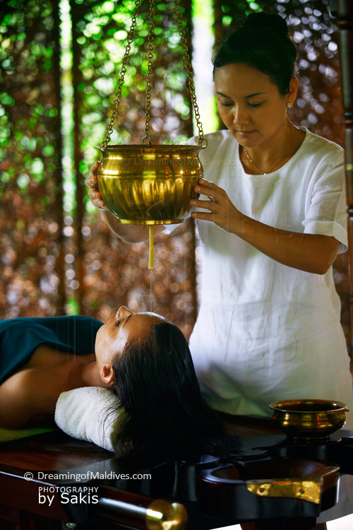 Ayurvedic Treatment at Six Senses Laamu Spa Maldives