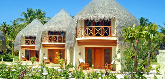 Bandos Maldives Best Resort for snorkeling in Maldives.villa