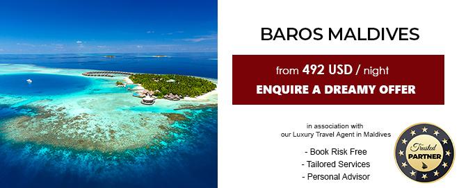 baros maldives luxury deal