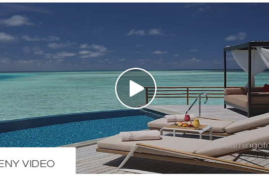 The Daily Teeny-Tiny Video. Baros Maldives. 16 Seconds on a Water Villa Deck