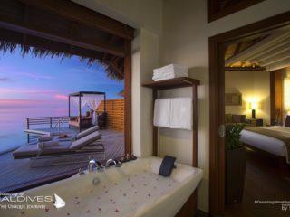 Baros Maldives Best Maldives Water Villas Water pool Villa