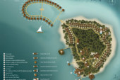 Baros Maldives Resort Maps