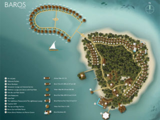 Baros maldives resort map