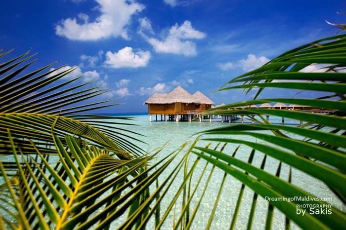 Baros Maldives Water Villas with swimming Pool