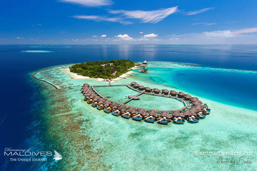 Baros Maldives Resort Aerial Photo