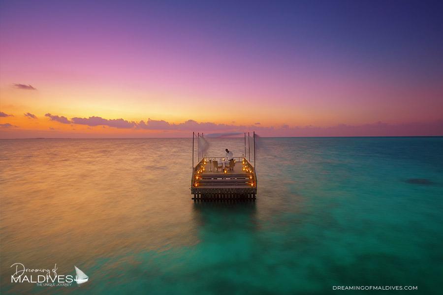Baros Maldives the Piano Sunset