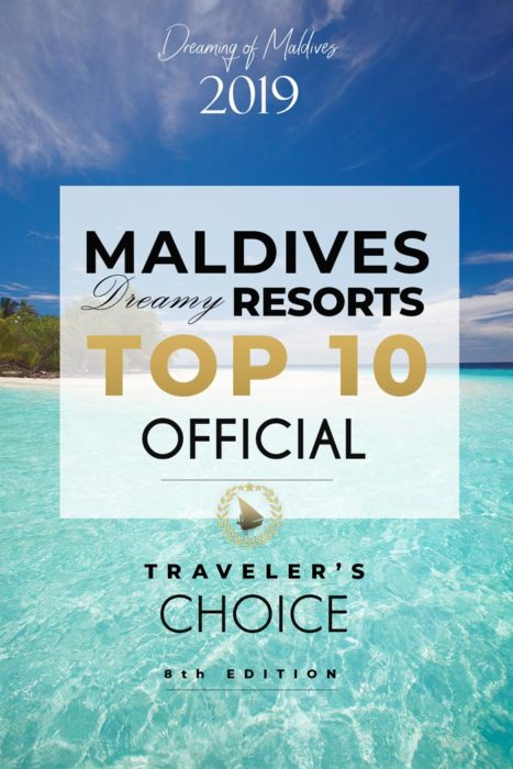 Maldives Best Hotels 2019 Dreamy Resorts - Official ranking. VOTES
