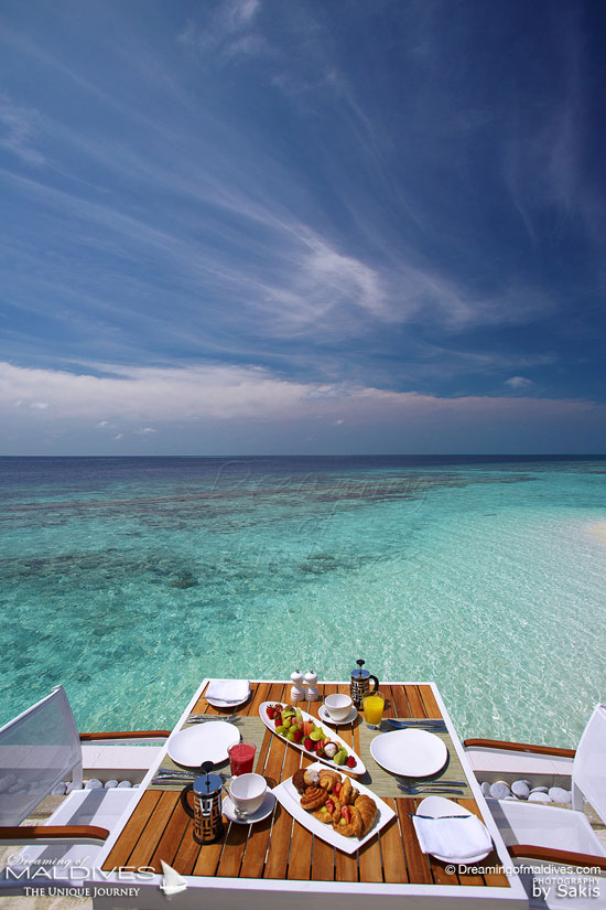 Maldives Photo Of The Day - Brunch in Paradise.