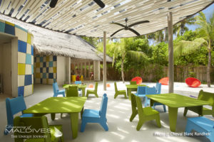 Kids club Playground at Cheval Blanc Randheli Maldives