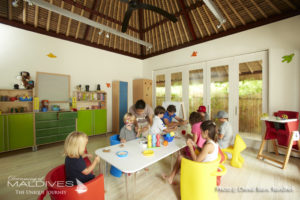 The Carrousel - Kids club  at Cheval Blanc Randheli Maldives