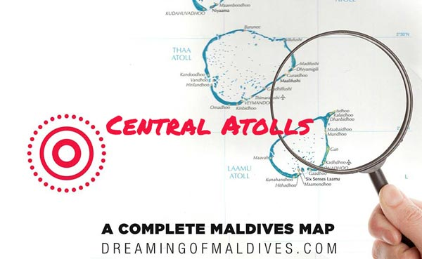 maldives map central atolls