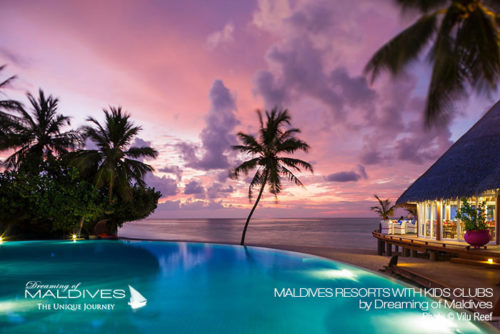 Maldives family resorts Kids Club at Vilu Reef