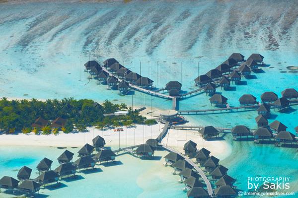 club med kani maldives aerial view photo gallery
