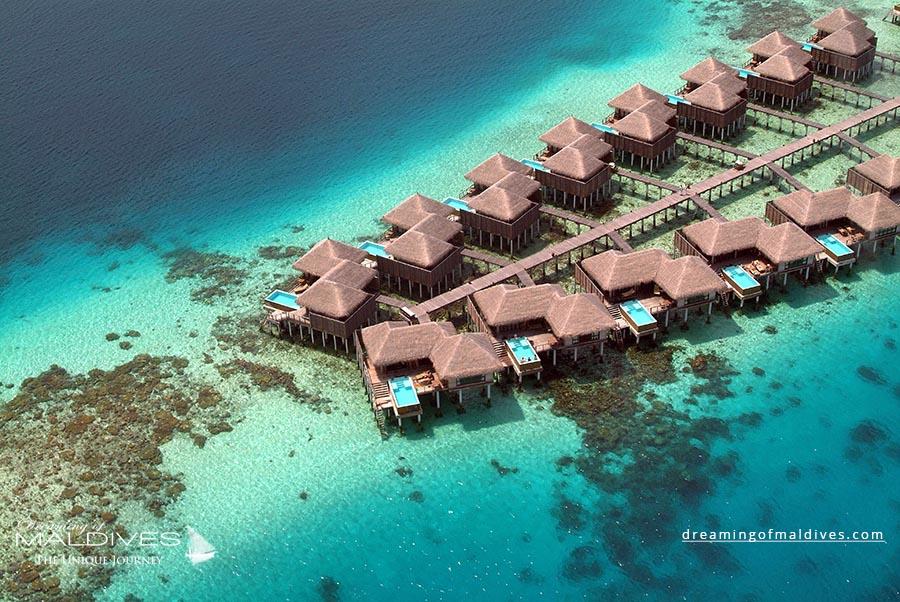 Coco Bodu Hithi Maldives Resort Aerial Photo