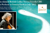 British cellist Steven Isserlis will be performing concerts at Soneva Fushi Maldives
