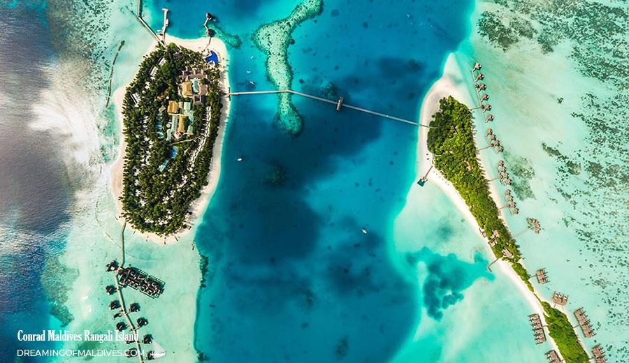 Conrad Maldives aerial photo