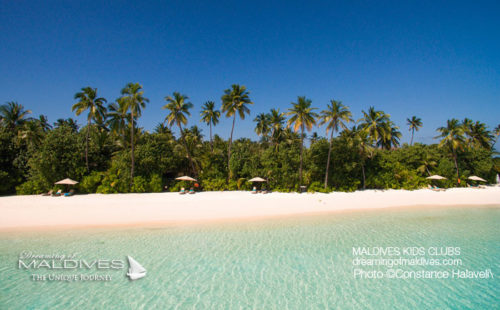 Maldives Family Hotel Constance Halaveli The Beach