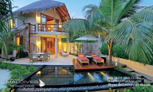Maldives Family Hotel Constance Halaveli Family Villa
