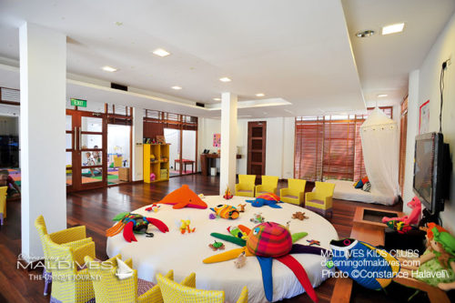 Maldives Family Hotel Constance Halaveli Kids Club