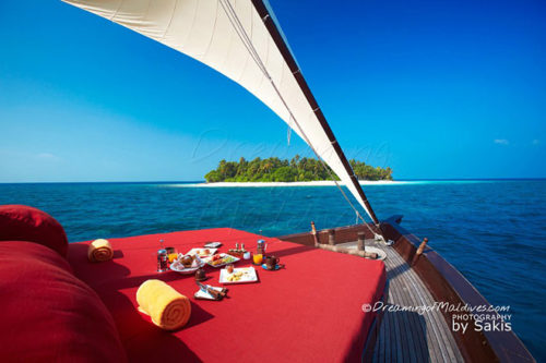 Photo of The Day : Cruising on a luxury Dhoni in Maldives at Niyama Maldives