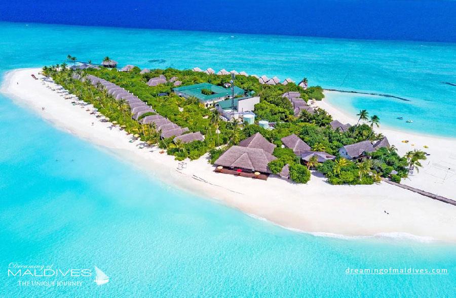 Dhigufaru Maldives Resort Aerial Photo