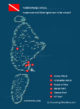 Map of the most essential dive sites of North Male Atoll - Maldives