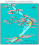 Meeru Island Resort - Diving Site Map